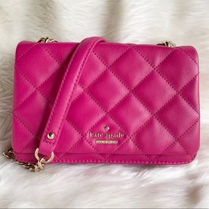 Kate Spade Emerson Place Mini Vivenna Purse- Berry